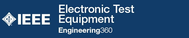 Electronic Test Equipment - IHS Engineering360