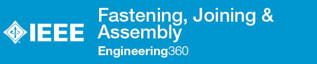 Fastening, Joining & Assembly - IHS Engineering360