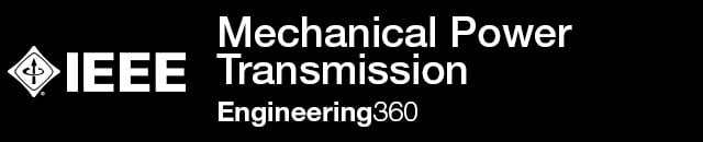 Mechanical Power Transmission - IHS Engineering360