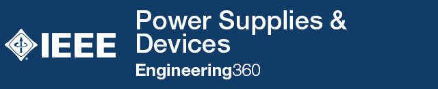 Power Supplies & Devices - IHS Engineering360