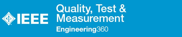 Quality, Test & Measurement - IHS Engineering360