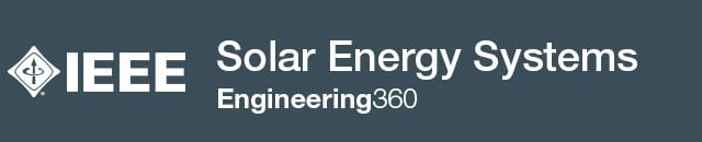 Solar Energy Systems - IHS Engineering360