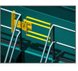 Fall Protection with Self-Closing Safety Gates
