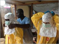 Ebola Virus Brings Protective Apparel to World's Attention