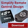 How to Simplify the Design of an RF Remote Control