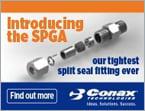 Introducing new SPGA split seal fitting with catalog pressure ratings