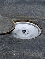 Protect critical underground cable from damage or tampering