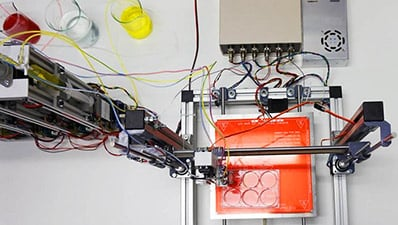 3-D Printing Functional Human Skin