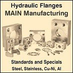 Extensive line of US made Hydraulic Flanges and Components.
