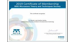 Download Your MTT-S Membership Certificate