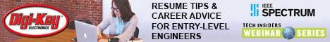Tech Insider Webinar: Resume Tips & Career Advice for Entry-Level Engineers
